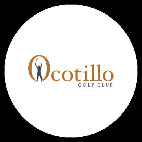 Ocotillo Logo in Circle Frame